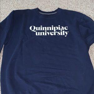 Quinnipiac University crew neck